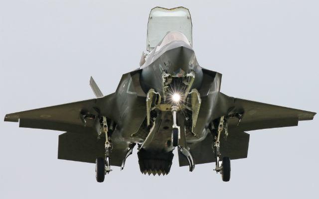 F-35 at RIAT - Mark Kwiatkowski