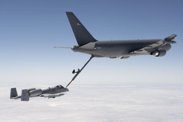 KC-46 refuels A-10 640