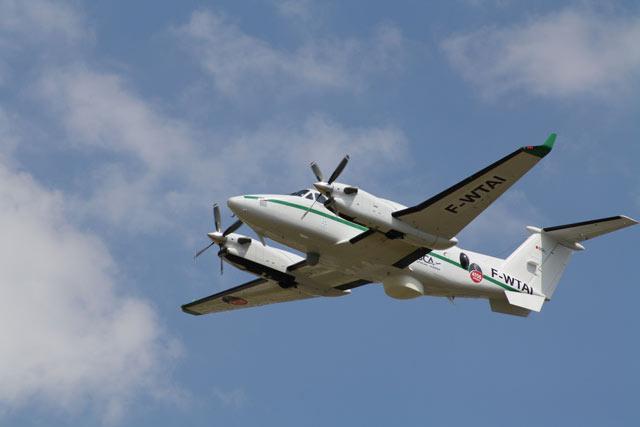 King Air with ATOS