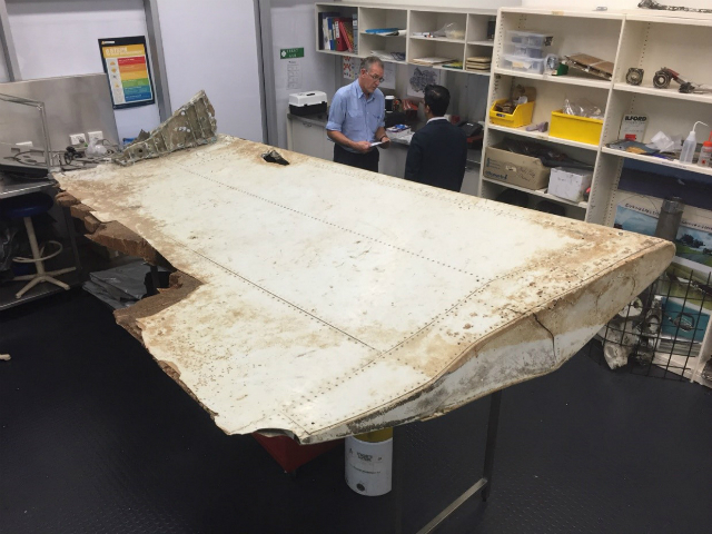 MH370 debris - 20 July 2016
