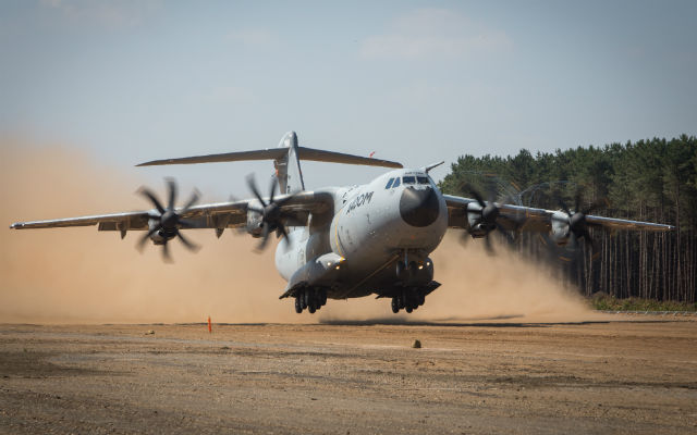 A400M sand - Airbus D&S