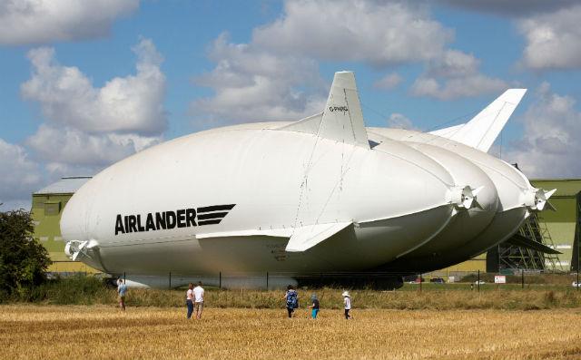 Airlander 10 - Geoff Robinson Photography/REX/Shut