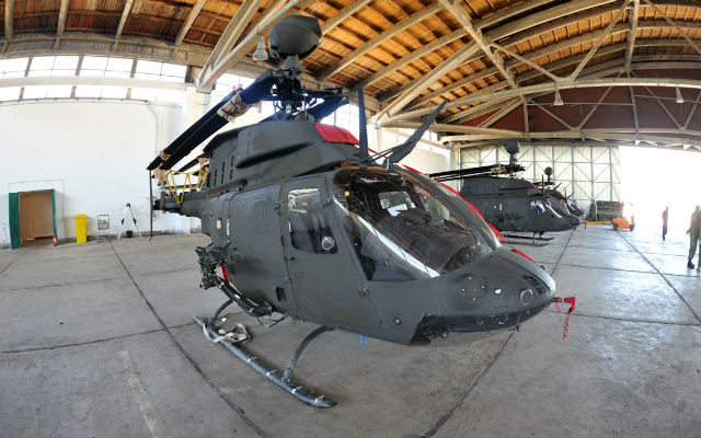 First ex-US Army Croatian OH-58D - Tomislav Brandt