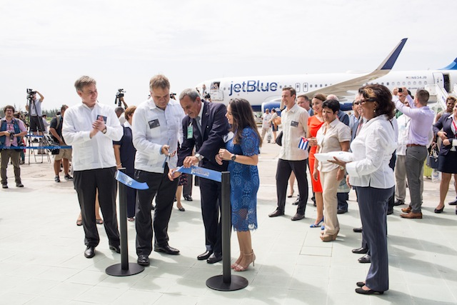 JetBlue Santa Clara Cuba Hayes