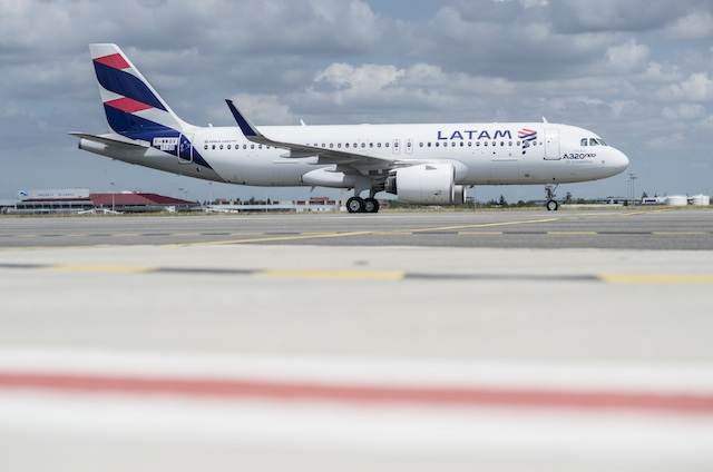LATAM first A320neo