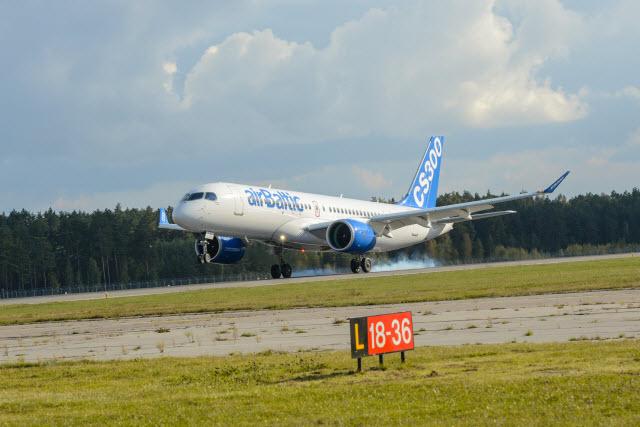Air Baltic CS300