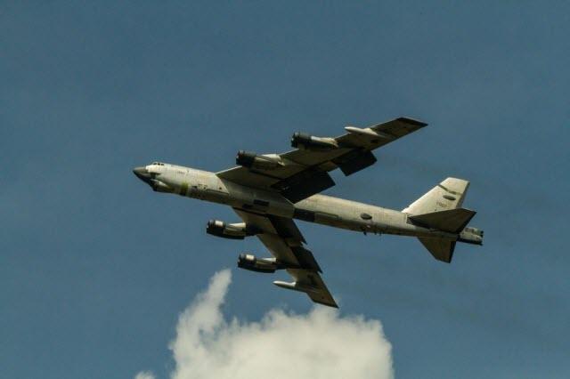 B-52 flight