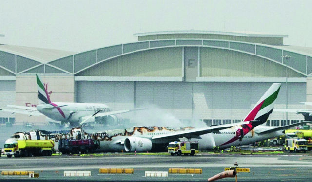 Emirates 777 crash - Reuters