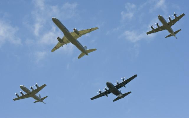 RNZAF fleet - Royal New Zealand Air Force