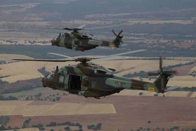 Spain NH90 Pair