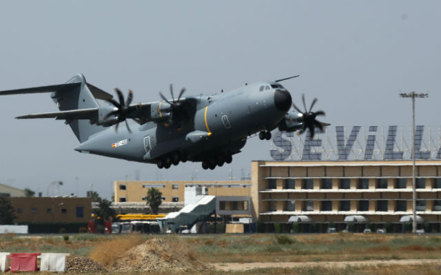 Spanish A400M take-off - Airbus Defence & Space