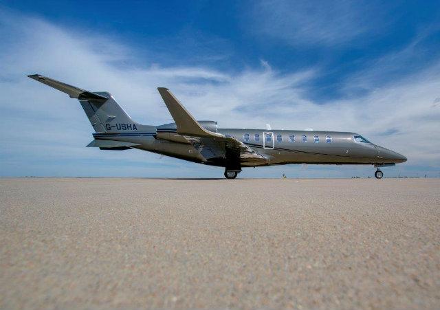 Zenith Learjet 75 story