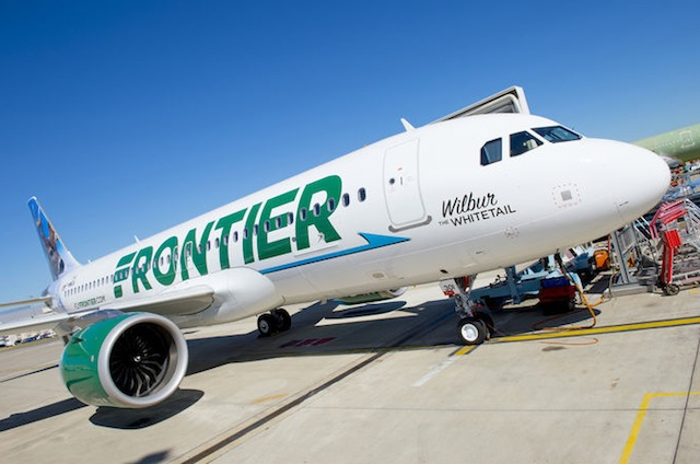Frontier first A320neo