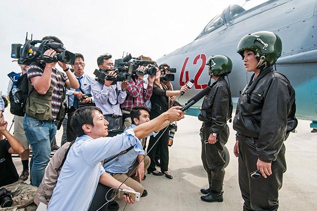 MiG-21 pilots
