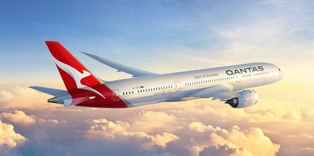 Qantas 787 new livery