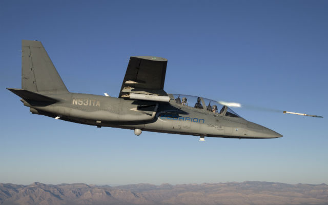 Scorpion APKWS launch - Textron AirLand