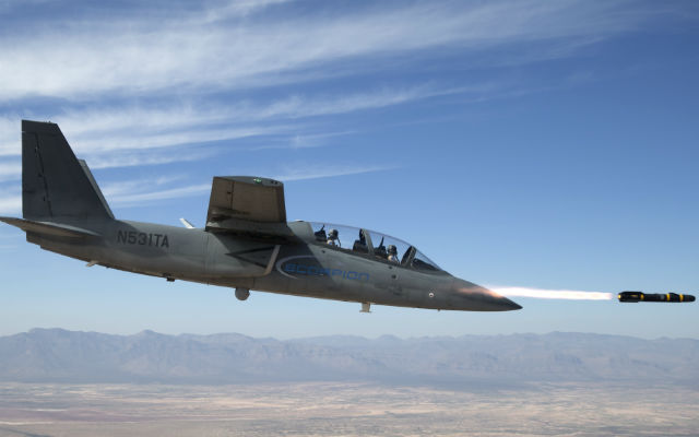 Scorpion Hellfire launch - Textron AirLand