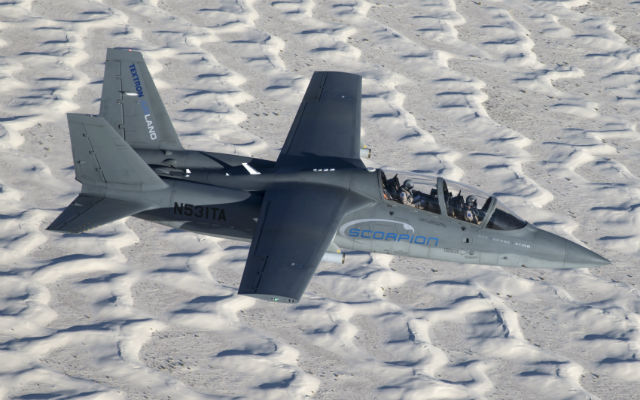 Scorpion over White Sands - Textron AirLand