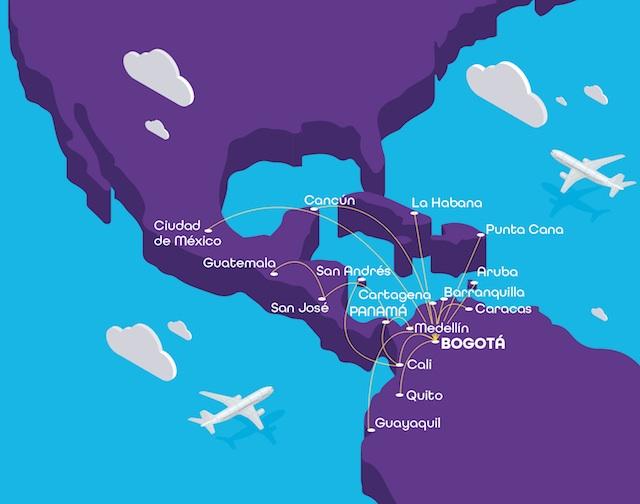 Wingo route map