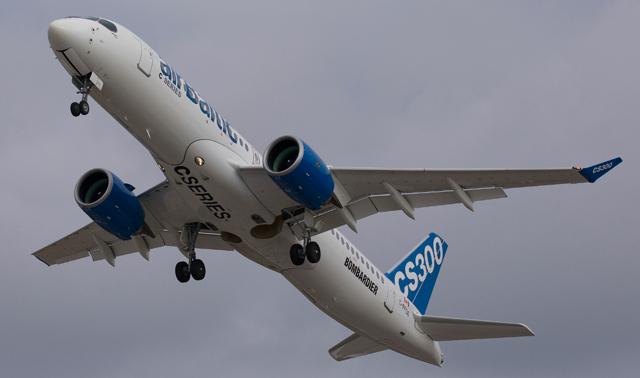 CSeries Air Baltic Flight Test