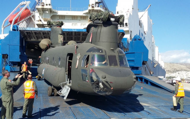 Greek ex-US Army Ch-47D - Hellenic dept of nationa