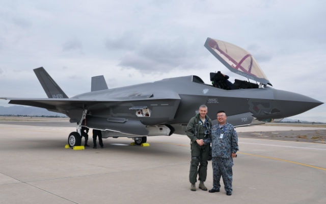 Japan receives first F-35 - US Air Force