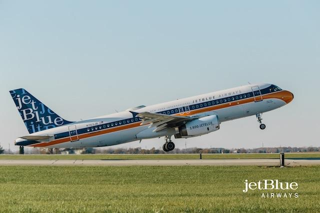 JetBlue retro A320