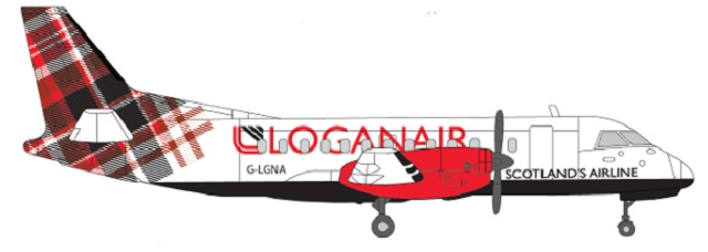 Loganair new livery