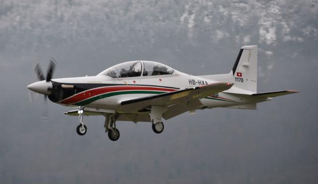 PC-21 Jordan - Stephan Widmer