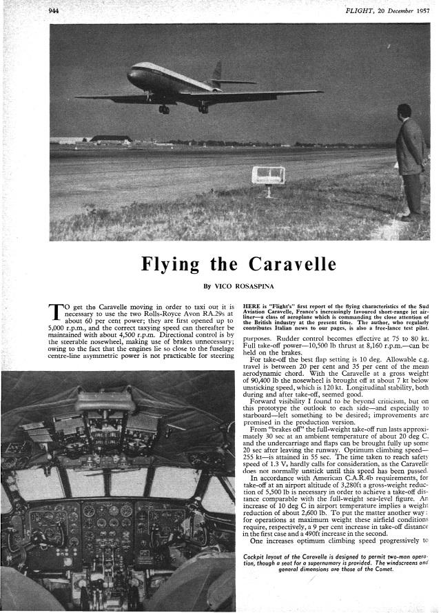Caravelle archive