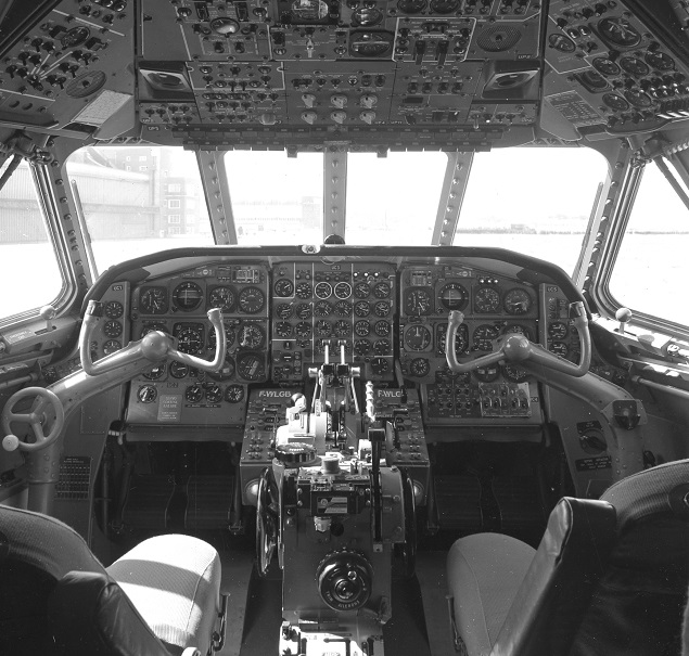 Caravelle cockpit