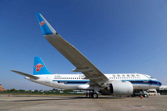 China Southern Airlines first A320neo