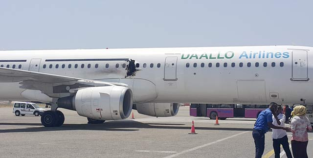 Daallo Airlines explosion