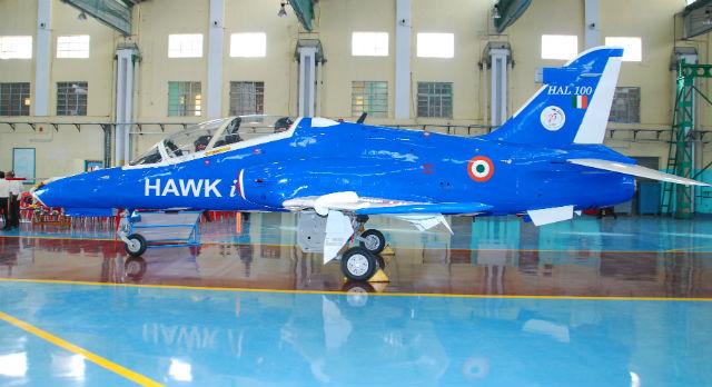 Hawk i side - Hindustan Aeronautics