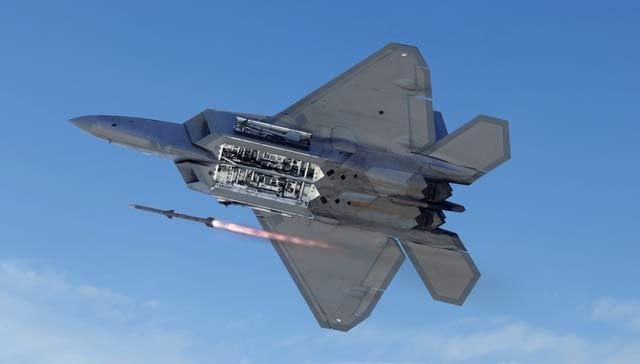 AMRAAM F-22