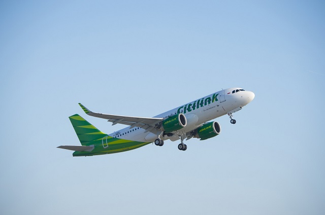Citilink first A320neo