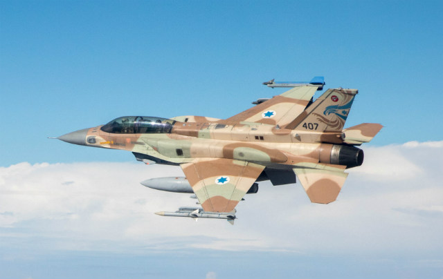 F-16I - Israeli air force