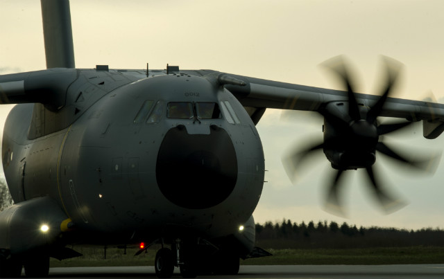 French A400M - US Air Force