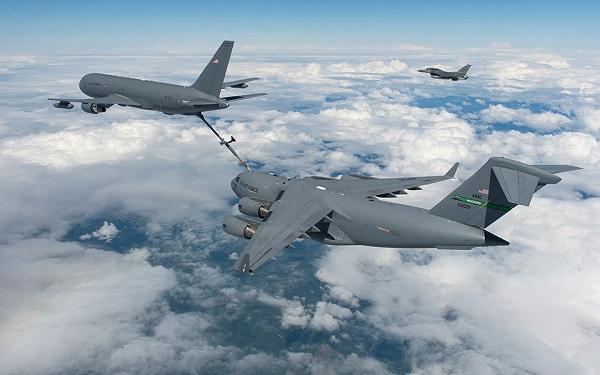 KC-46 tankers