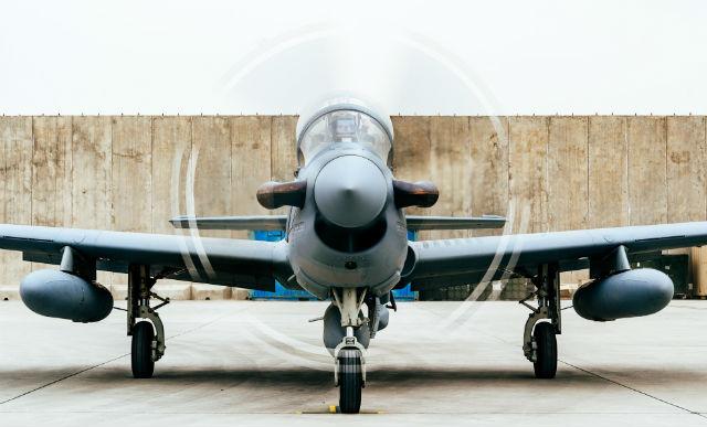 Afghan A-29 close - US Air Force