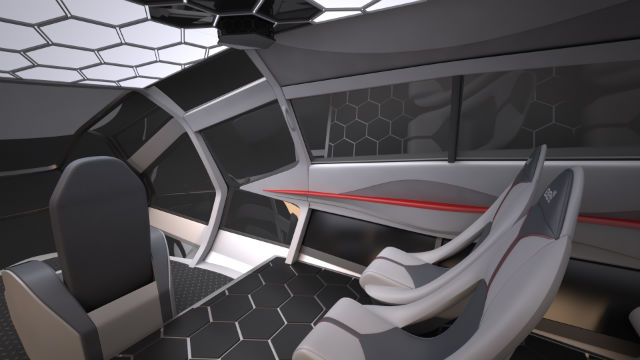 Bell FCX interior