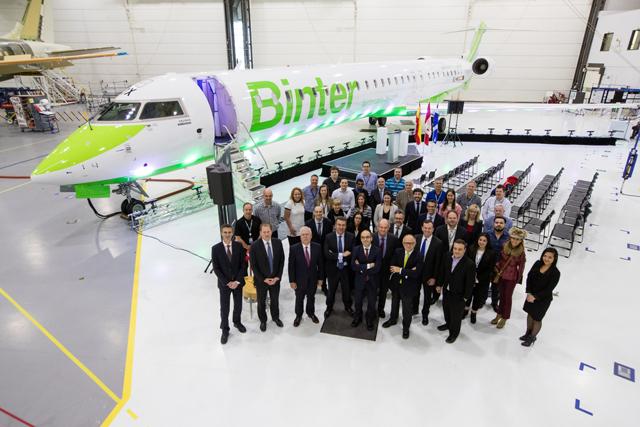 Binter CRJ1000