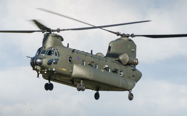Chinook HC5 - Crown Copyright