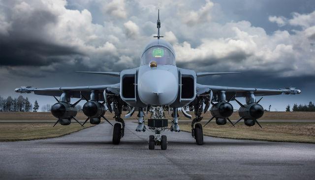 Gripen RBS15s - Saab