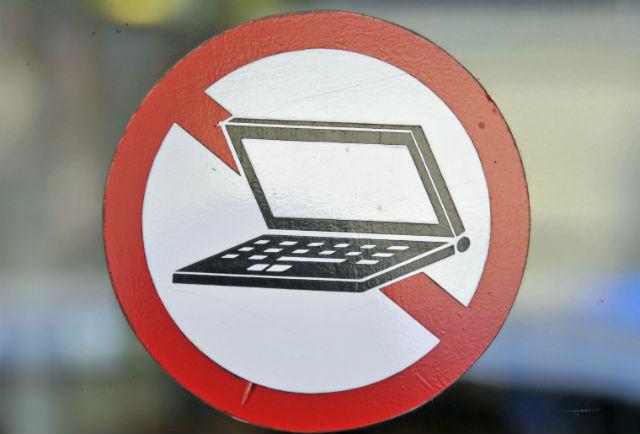 Laptop ban - ImageBroker/REX/Shutterstock