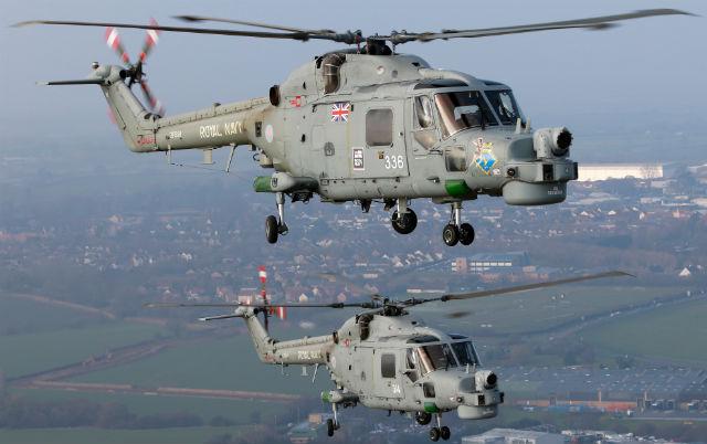 Lynx HMA8s - Mark Kwiatkowski/FlightGlobal