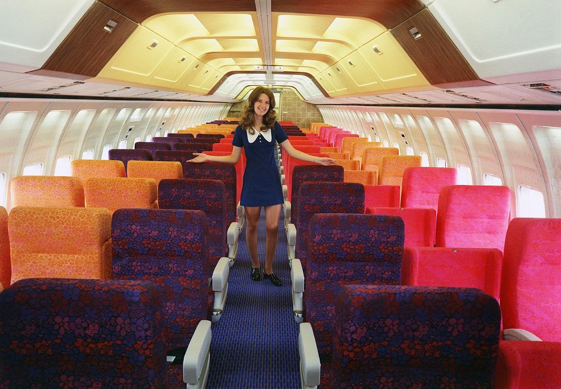 737 interior
