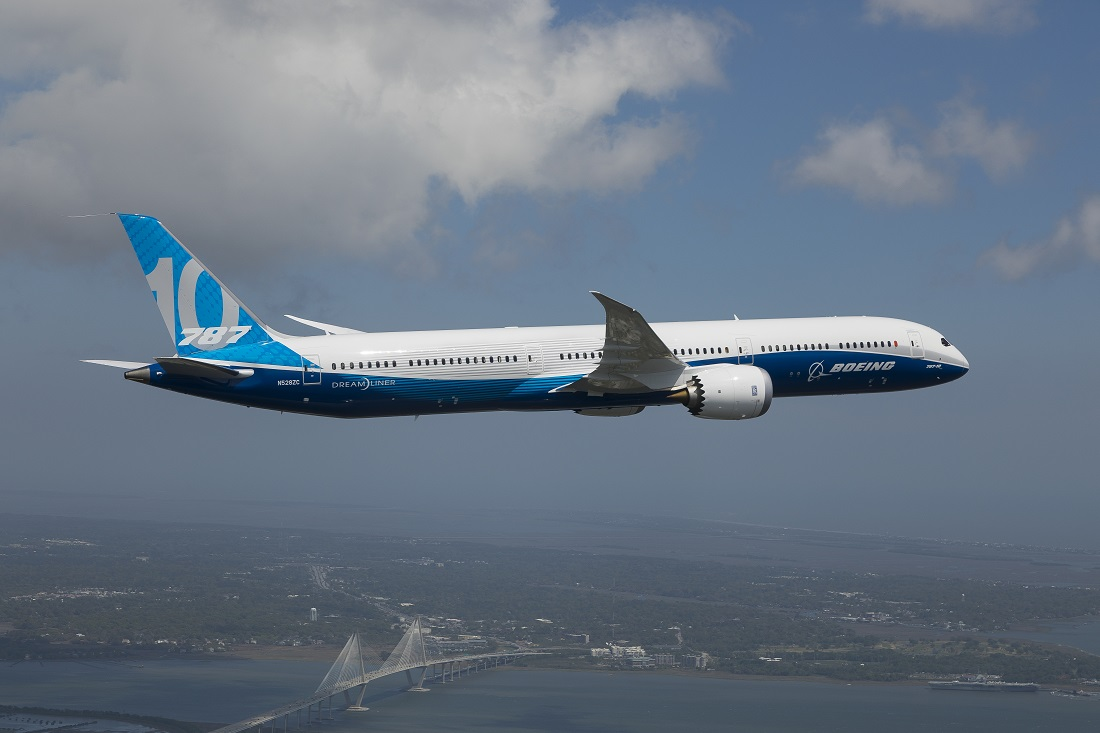 B787-10 first flight 2 Boeing