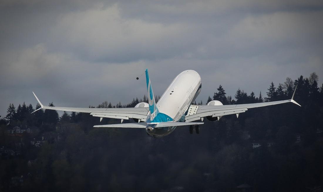 Max 9 take-off