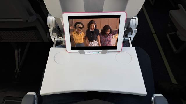 WestJet Tablet caddy